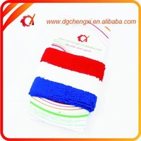 soccer ball cotton knitted sports wristband