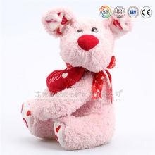 yiwu stuffed toy dogs wholesale plush standing dog