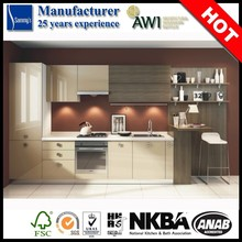 Fashionable Hot Sale High Gloss PVC Used Kitchen Cabinet Doors