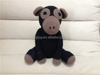 Crochet stuffed animal toys, crochet stuffed horse.