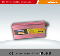 Modified Sine Wave Power Inverter 2000W DC 12V to AC 110V/220-240V Power Converter with Battery Charge Function