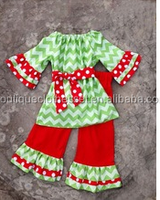 2014Hot Sale 2 Pcs Children Clothes Set Brand Kids Clothes Girl's Ruffle Pant Set Toddler Girls Dress Top And Ruffle Pant Sets