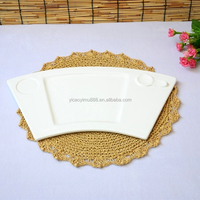 Unique customized made in china round drinking pad modern plate mat