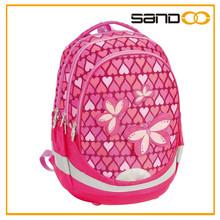 2015 latset sale kids designer School bag for lovely kids girls
