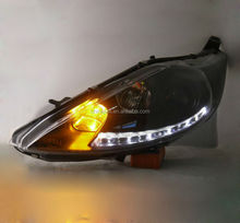 For Ford Fiesta Led head admended lights,Car Accessaries parts,2009-2014 MODIFY LAMP/LIGHTS NEW TYPE/MODEL/made in china