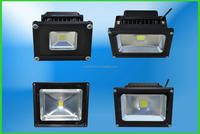 Outdoor LED flood light fixture replace metal halide for building and advertisement board