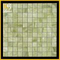Pedra malaquita verde azulejos da cozinha padrões de projeto telha telhas 15 x 15 branco