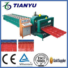 Supply tile press, color steel molding equipment, can according to the drawing processing