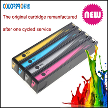 Remanufactured for hp 970XL 971XL With original chip and Korea Inktec ink for hp x576dw ink cartridge