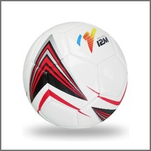 Sublimated style machine sewn football for training