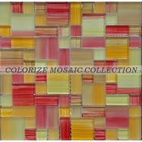 Foshan mosaic supplier glass mosaic tile, wall decoration material (TX035)