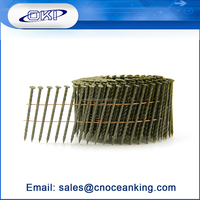 2015 New product galvanized wood pallet coil nails