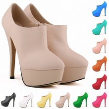 C88767A wholesale lady platforms high heels shoes womens dress shoes party high heel shoes