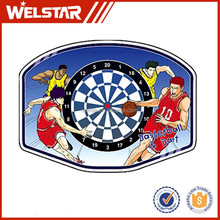 """18"""" basketball backboard and rim with customized printing"""