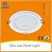 Smart Home CE standard modern 12w led panel light white ceiling round light
