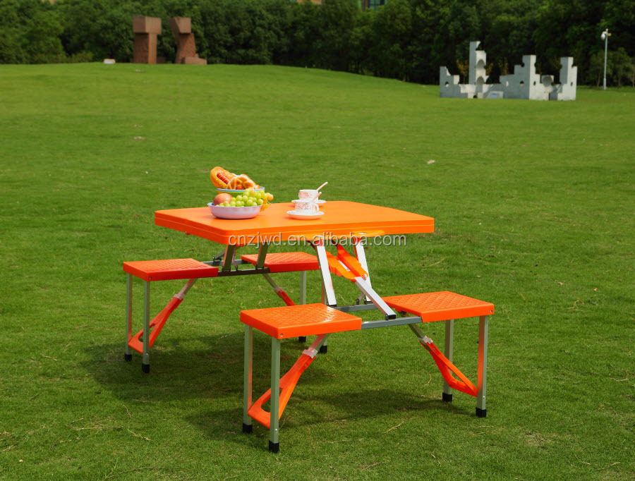 Outdoor Abs Plastic Folding Table And Chairs In 4 Direction Buy Used School