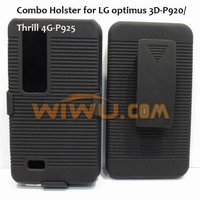 Pratical swivel holsters case for LG optimus 3D-P920/Thrill 1G-P925