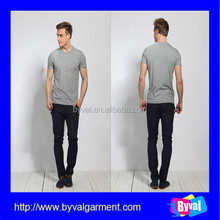 Custom logo t-shirts mens fashion t shirt factory price