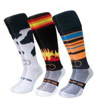 2014 Sport Custom Knitting cool dry knee high soccer socks