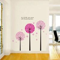 DIY Romantic Cute tree Removable Mural Vinyl Decal Wall Sticker Art Room Home Decor QT43