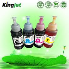 4 colors specialized printer ink L200 L201 UV Dye Ink for epson L100 L101
