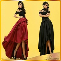 short front and long back flare long skirt sexy beautiful young girls in short skirts mature women pictures fashionable skirts