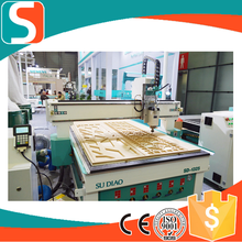 Air cooling spindle HSD are optional cnc engraving machine for wood mdf acrylic wood door making cnc router cutting
