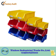cheap wall mounted plastic stackable storage bins for electronic component alibaba China