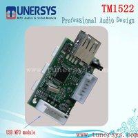 TM1522 usb sd audio player circuit board