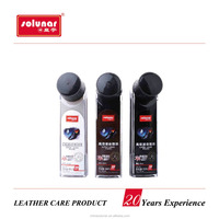 Shanghai High Quality Liquid Shoe Polish Cute Sealed Bottle applicator with black brown and neutral colors good price A1104W