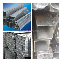 The length of 2--12M ASTM A 53 / BS 1387-1985 square tube/hollow section made in china manufactures
