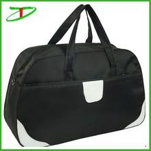 Quanzhou factory fashion vacation black classic travel bag for men, pro man duffle bag