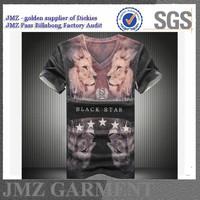 2015 hot sale OEM mens digital printing fashion t shirts