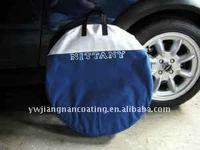 Car 22.5 custom spare tire wheel cover