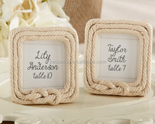 """""""Tied with Love"""" Rope Frame 2015 new wedding favors"""