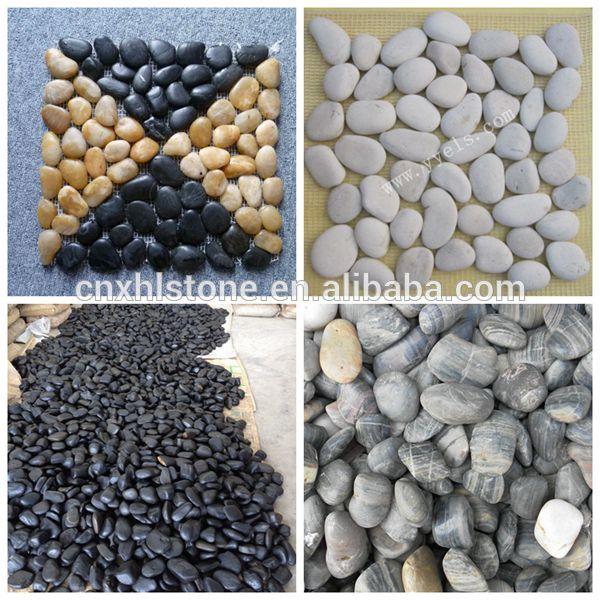 buena calidad de colores guijarro jard n de piedra de r o On guijarros de colores para el jardin