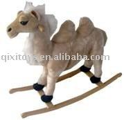 Plush rocking camel