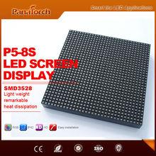 PanaTorch Perfect Visual Digital RGB Video Display reliable and safe IP43 Waterproof P5 RGB