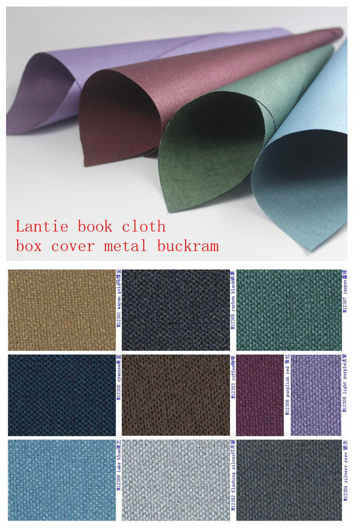 Book Binding Cover Material : Box cover buckram book cloth coating cotton binding fabric