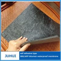 cheap self-adhesive polymer bitumen waterproof roofing membrane made in china