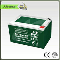 better 12v12ah electric bike battery,6-DZM-12 Battery,rechargeable battery powered scooter
