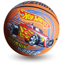 2014hot sale training rubber basketball size 7 match basketball for teenagers