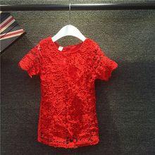 Wholesale manufacturers Summer children's clothing wholesale children's clothing girls dress children dress lace stitching
