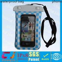 Wholesale waterproof case for iphone 5s with armband and earphone