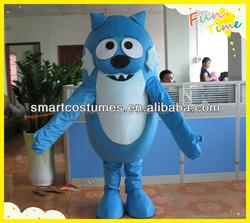 Hot Sale high quality adult yo gabba toodee mascot costume