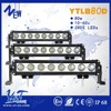 wholesale 80w strobe flash car led driving light bars for Truck,Boat,Mine,Motorcycle
