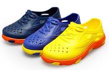2015 new summer fashion kid boys girls assorted colors eva clog shoes