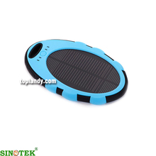 SINOTEK 2015 hot new products solar usb charger 5000mah solar sun charger mobile power
