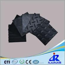 All Kinds of Patterns Anti Slip Rubber Sheet / Mat