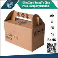 Carton Easter hand carrying corrugated box